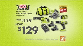 Ryobi TV Spot, 'Home Depot Ryobi Days: Get Your Hands On Ryobi' - Thumbnail 10