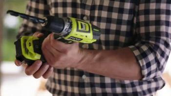 Ryobi TV Spot, 'Home Depot Ryobi Days: Get Your Hands On Ryobi' - Thumbnail 5