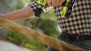 Ryobi TV Spot, 'Home Depot Ryobi Days: Get Your Hands On Ryobi' - Thumbnail 6