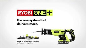 Ryobi TV Spot, 'Home Depot Ryobi Days: Get Your Hands On Ryobi' - Thumbnail 9
