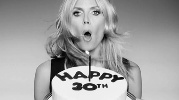 Macy's INC TV Spot, 'Happy 30th Birthday' Featuring Heidi Klum - Thumbnail 4