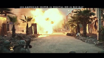 American Sniper Digital HD and Blu-ray TV Spot - Thumbnail 2