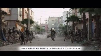 American Sniper Digital HD and Blu-ray TV Spot