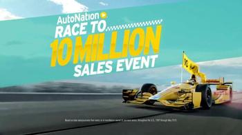 AutoNation Race to 10 Million Sales Event TV Spot, 'Race Track' - Thumbnail 3