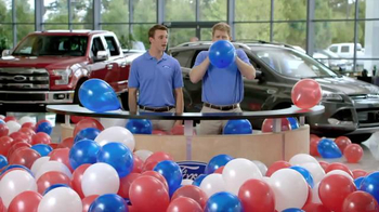 Ford Memorial Day Sales Event TV Spot, 'Too Many Balloons' - Thumbnail 1