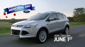 Ford Memorial Day Sales Event TV Spot, 'Too Many Balloons' - Thumbnail 3