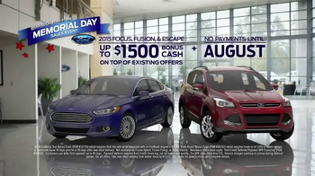 Ford Memorial Day Sales Event TV Spot, 'Too Many Balloons' - Thumbnail 6