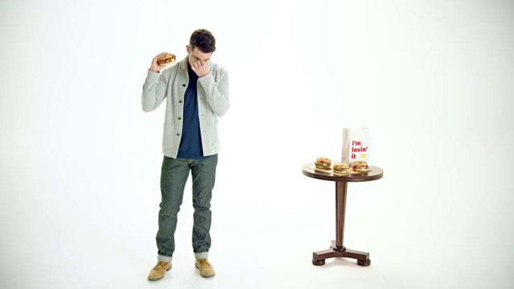 McDonald's Sirloin Third Pound Burger TV Commercial, 'Crying' Ft. Max Greenfield