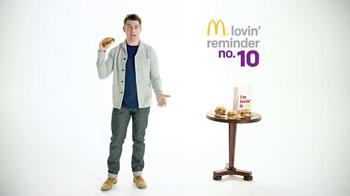 McDonald's Sirloin Third Pound Burger TV Spot, 'Crying' Ft. Max Greenfield - Thumbnail 2