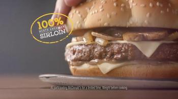 McDonald's Sirloin Third Pound Burger TV Spot, 'Crying' Ft. Max Greenfield - Thumbnail 6