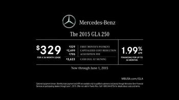 2015 Mercedes-Benz GLA 250 TV Spot, '100 Percent' - Thumbnail 10
