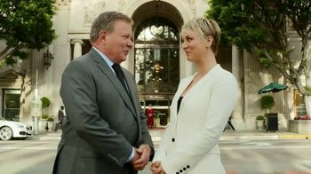 Priceline.com TV Spot, 'First Negotiation' Ft. Kaley Cuoco, William Shatner - Thumbnail 1