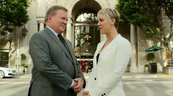 Priceline.com TV Spot, 'First Negotiation' Ft. Kaley Cuoco, William Shatner - Thumbnail 2