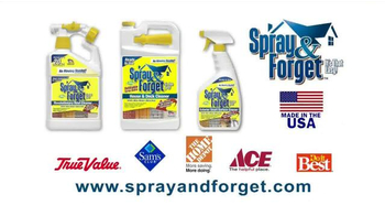 Spray & Forget TV Spot, 'Keep Your Home Beautiful' - Thumbnail 10