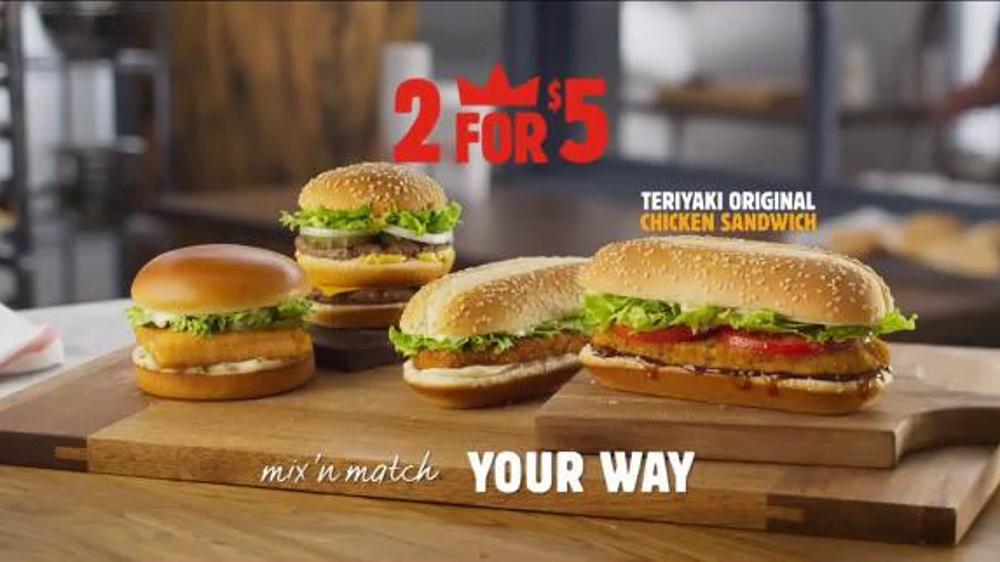 Burger King Teriyaki Original Chicken Sandwich TV Commercial This Is It