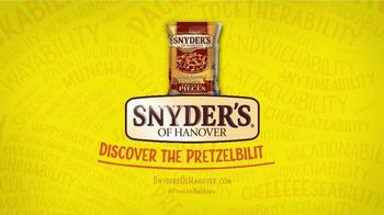 Snyder's of Hanover Honey Mustard & Onion Pretzel TV Spot, 'Burstability' - Thumbnail 7