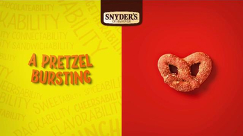 Snyder's of Hanover Honey Mustard & Onion Pretzel TV Spot, 'Burstability' - Thumbnail 2