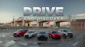 Dodge Drive and Discover TV Spot, 'Dodge Brothers: Push the Limits' - 155 commercial airings