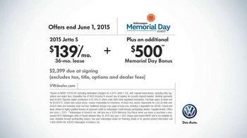 Volkswagen Memorial Day Event TV Spot, 'SPF' Song by Saint Motel - Thumbnail 9