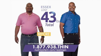 Nutrisystem Fast 5+ TV Spot, 'Real Men'