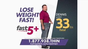 Nutrisystem Fast 5+ TV Spot, 'Real Men' - Thumbnail 4