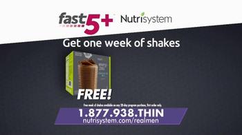Nutrisystem Fast 5+ TV Spot, 'Real Men' - Thumbnail 9