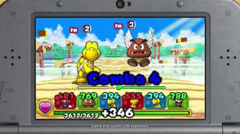 Nintendo Puzzle & Dragons Z + Puzzle & Dragons Super Mario Bros. TV Spot - Thumbnail 4