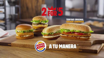 Burger King Teriyaki Original Chicken Sandwich TV Spot, 'Así Es' [Spanish] - Thumbnail 5
