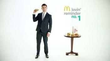 McDonald's Sirloin Third Pounders TV Spot, 'Daily Lovin' Reminder: Intro'