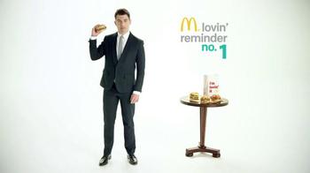 McDonald's Sirloin Third Pounders TV Spot, 'Daily Lovin' Reminder: Intro' - Thumbnail 2