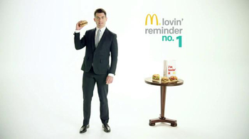 McDonald's Sirloin Third Pounders TV Spot, 'Daily Lovin' Reminder: Intro' - 88 commercial airings