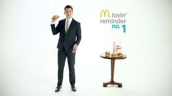McDonald's Sirloin Third Pounders TV Spot, 'Daily Lovin' Reminder: Intro' - Thumbnail 4