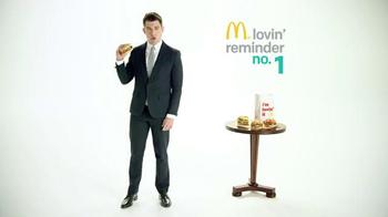 McDonald's Sirloin Third Pounders TV Spot, 'Daily Lovin' Reminder: Intro' - Thumbnail 6