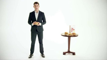 McDonald's Sirloin Third Pound Burger TV Spot, 'Reminder' Ft Max Greenfield - Thumbnail 1