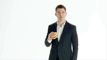 McDonald's Sirloin Third Pound Burger TV Spot, 'Reminder' Ft Max Greenfield - 1107 commercial airings