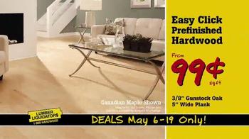Lumber Liquidators TV Spot, 'Incredible May Deals' - Thumbnail 5