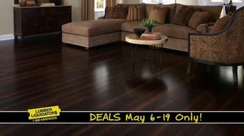 Lumber Liquidators TV Spot, 'Incredible May Deals' - Thumbnail 6