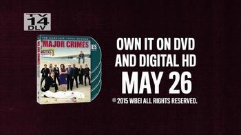 Major Crimes: The Complete Third Season DVD TV Spot - Thumbnail 7