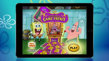 SpongeBob's Game Frenzy App TV Spot, 'Frenzy of Fun' - 2055 commercial airings