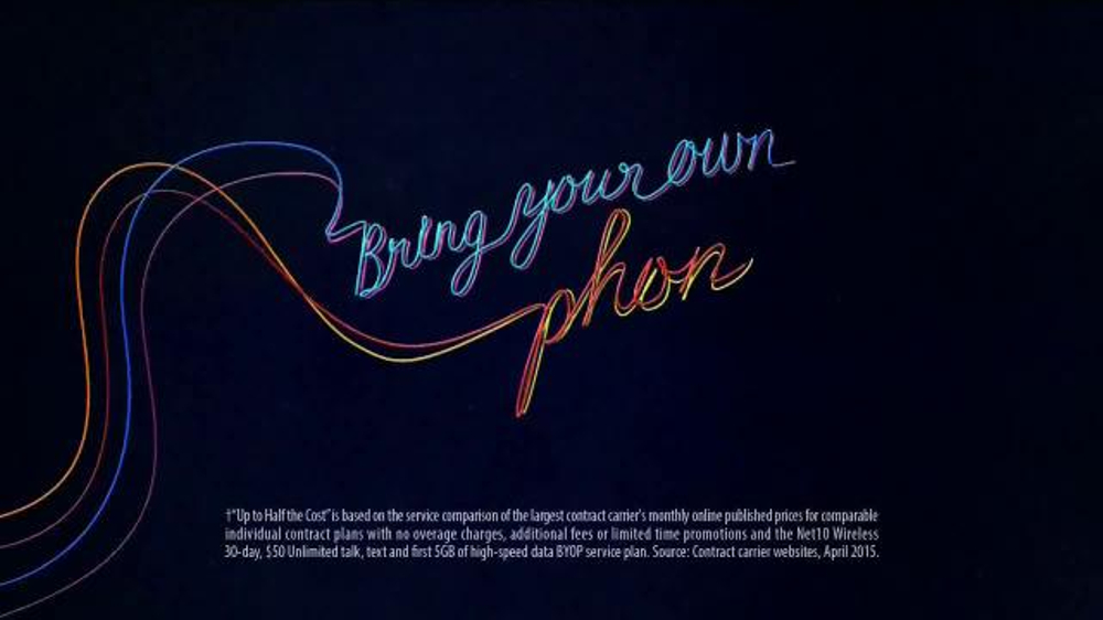 Net10 Wireless Bring Your Own Phone Plan TV Commercial, 'Awesome' - Video