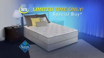 Sam's Club TV Spot, 'Serta Silverdale Mattress' - 620 commercial airings