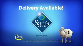 Sam's Club TV Spot, 'Serta Silverdale Mattress' - Thumbnail 9