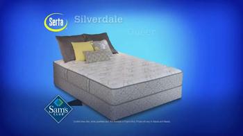 Sam's Club TV Spot, 'Serta Silverdale Mattress' - Thumbnail 3