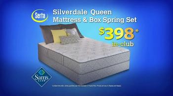 Sam's Club TV Spot, 'Serta Silverdale Mattress' - Thumbnail 4