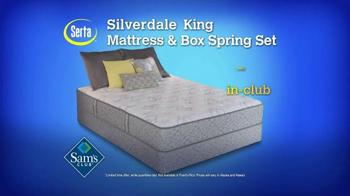 Sam's Club TV Spot, 'Serta Silverdale Mattress' - Thumbnail 5