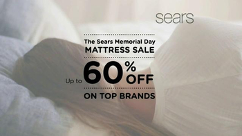 Sears Memorial Day Mattress Sale TV Spot, 'Sleep Matters'