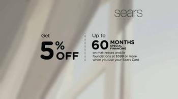 Sears Memorial Day Mattress Sale TV Spot, 'Sleep Matters' - Thumbnail 5