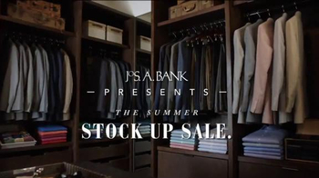 JoS. A. Bank Summer Stock Up Sale TV Spot, 'Polos, Shirts, Suits' - Thumbnail 1