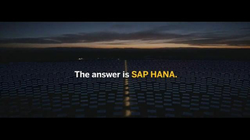 SAP HANA TV Spot, \'The Answer is Simple\'