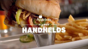 Applebee's Handhelds TV Spot, 'New Handhelds Menu' Song by White Stripes - 1260 commercial airings